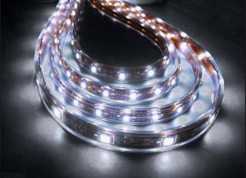 Лента светодиодная 3528 влагозащищеная белая  60 диодов/метр